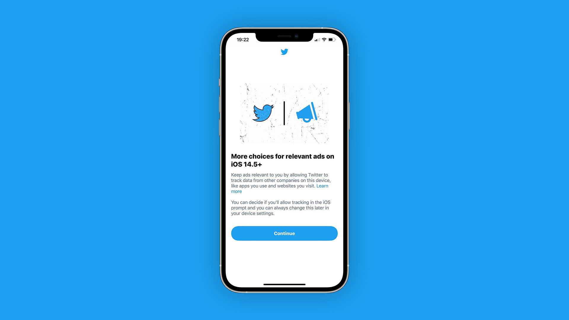 ❤ Twitter for iOS begins prompting users to enable App Tracking option