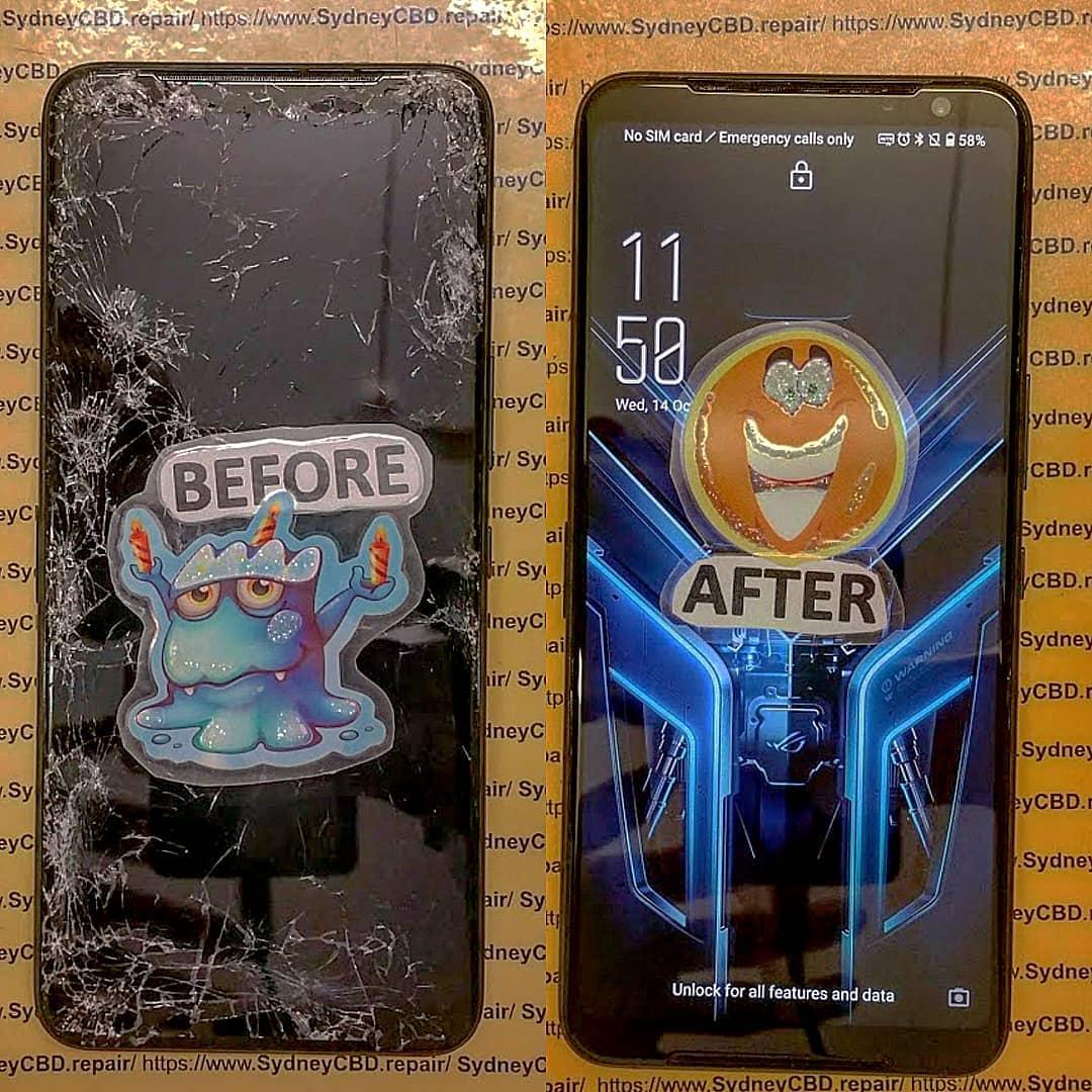 1 Broken Rog Phone 3