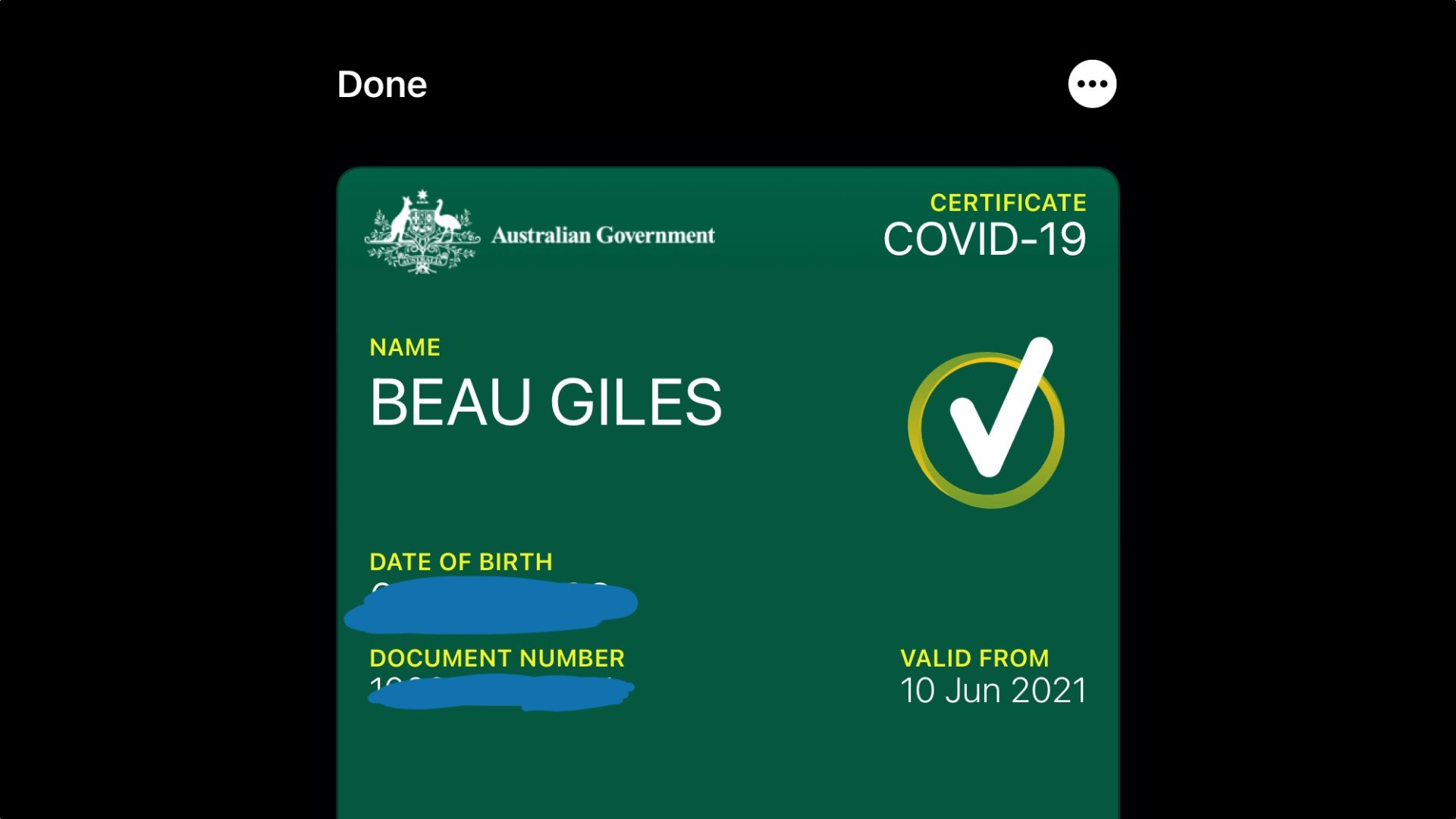 ❤ Australians can now add COVID-19 vaccine certificate to Apple Wallet
